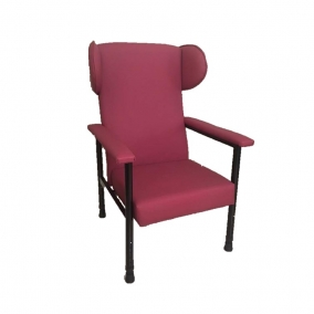 Orthopaedic Chair With Padded Arms & Wings