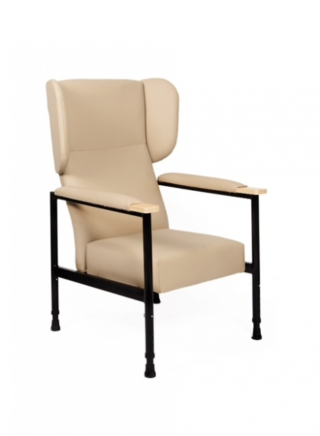 Orthopaedic Chair 3/4 Padded Arms & Wings