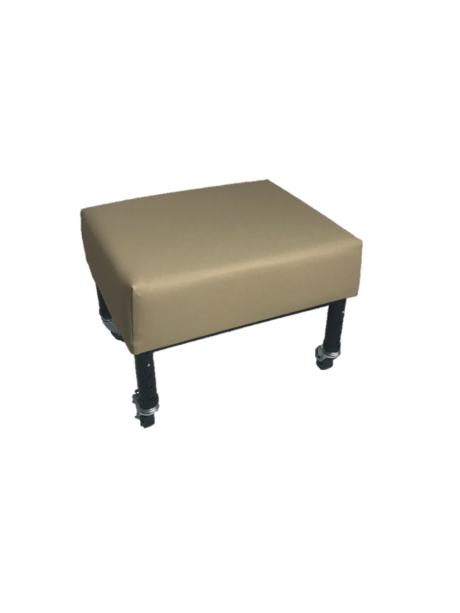 Adjust & Tilt Footstool with Castors